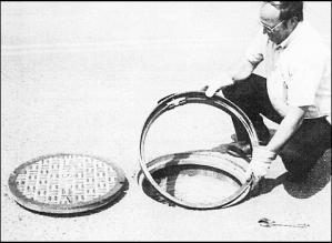 J. Thomas, LTD. Manhole Riser Ring Installation