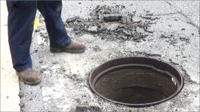 J. Thomas, LTD. Manhole Riser Ring Replacement